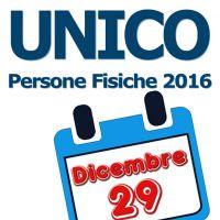 """Dichiarazione dei redditi entro il 29 dicembre, il """"modello UNICO Tardivo"""". Siamo ancora in tempo"""