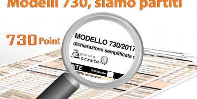 Date di presentazione modello 730 presso il 730 Point