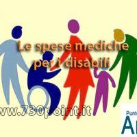 Le spese mediche per i disabili - elenco delle casistiche