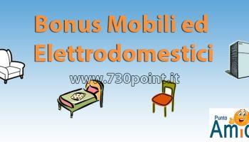 Bonus Mobili 2018, Detrazione per l'acquisto di mobili e grandi elettrodomestici  Spese per l'arredo degli immobili ristrutturati