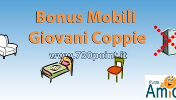 Bonus Mobili giovani coppie, detrazione per l'acquisto di mobili riservato alle giovani coppie