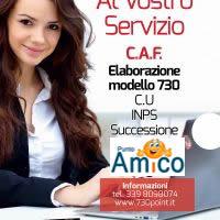 Caf Carugate modello 730 Carugate, nel Centro Commerciale Carosello