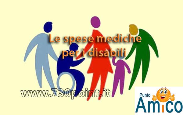 Le spese mediche per i disabili
