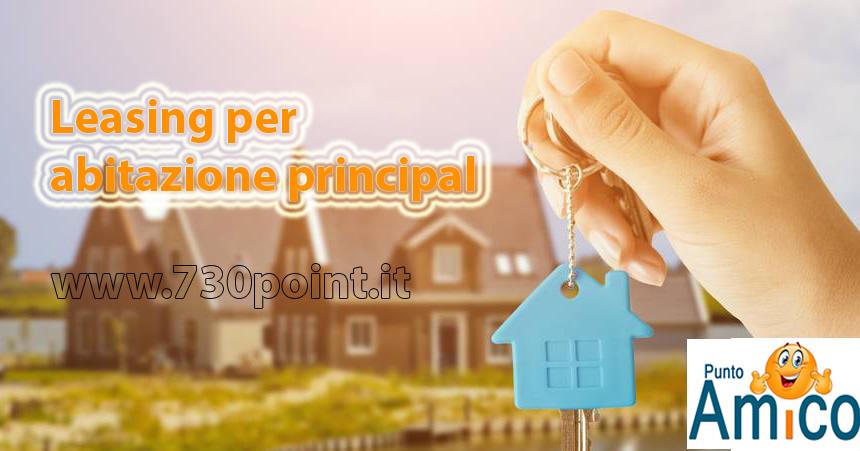 Leasing abitativo acquisto prima casa