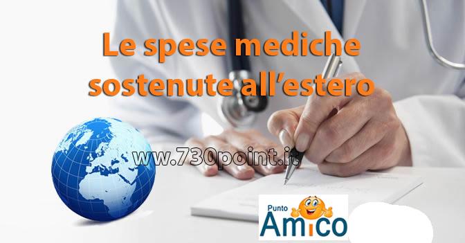 spese mediche sostenute all'estero dichiarazione 730 CAF Milano