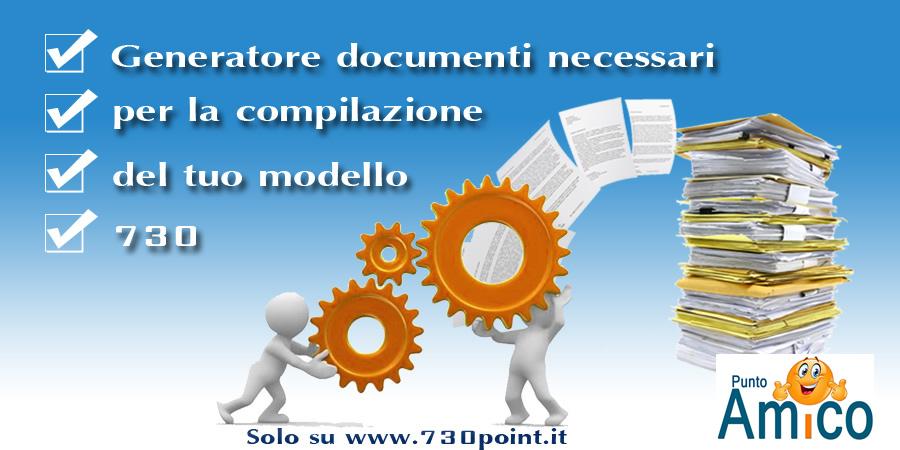 Generatore Di Documenti Necessari Alla Comnpilazione Del Modello 730 2017    Www.730Point.it