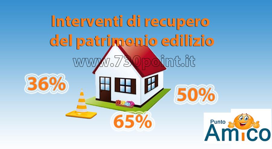 interventi di recupero del patrimonio edilizio spese di ristrutturazione