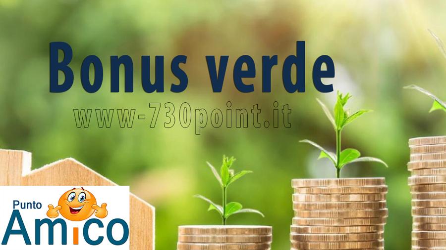 Bonus verde caf Milano
